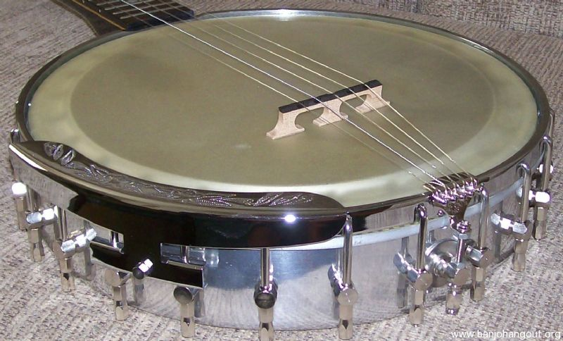 Sold Short Scale Travel Banjo Neck W Gariepy