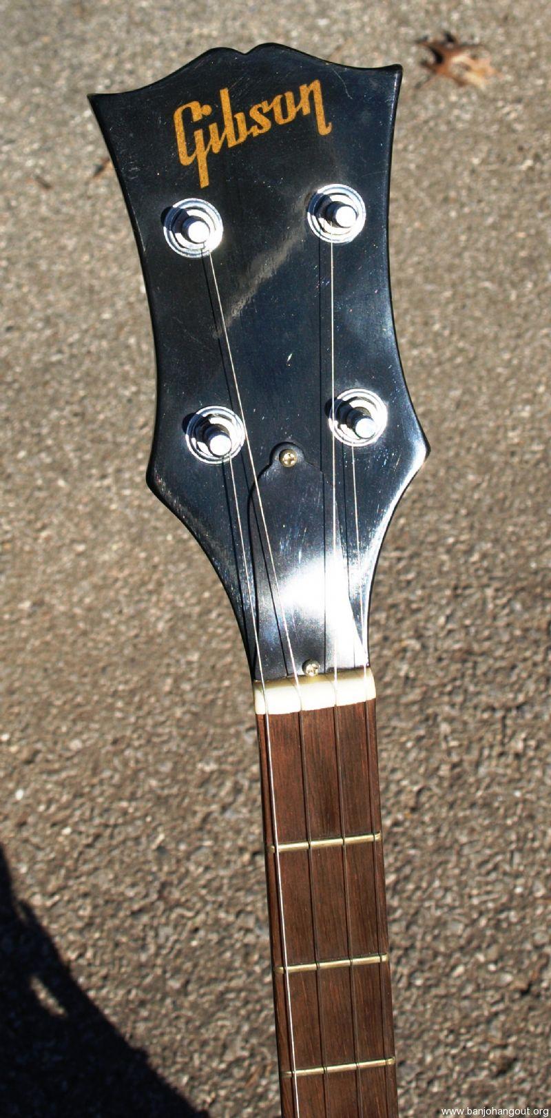 Gibson RB-175 Long neck - Used Banjo For Sale at BanjoBuyer com