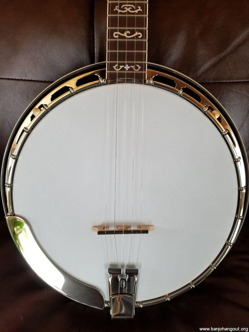 Heartland Appalachian 5 string resonator banjo - Used Banjo For Sale