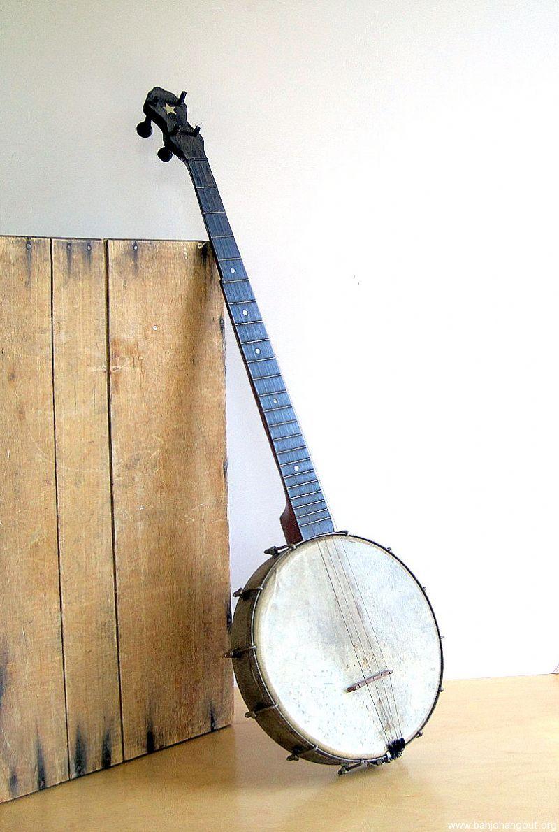 vintage supertone amateur 403 5 string banjo used banjo for sale at. Black Bedroom Furniture Sets. Home Design Ideas
