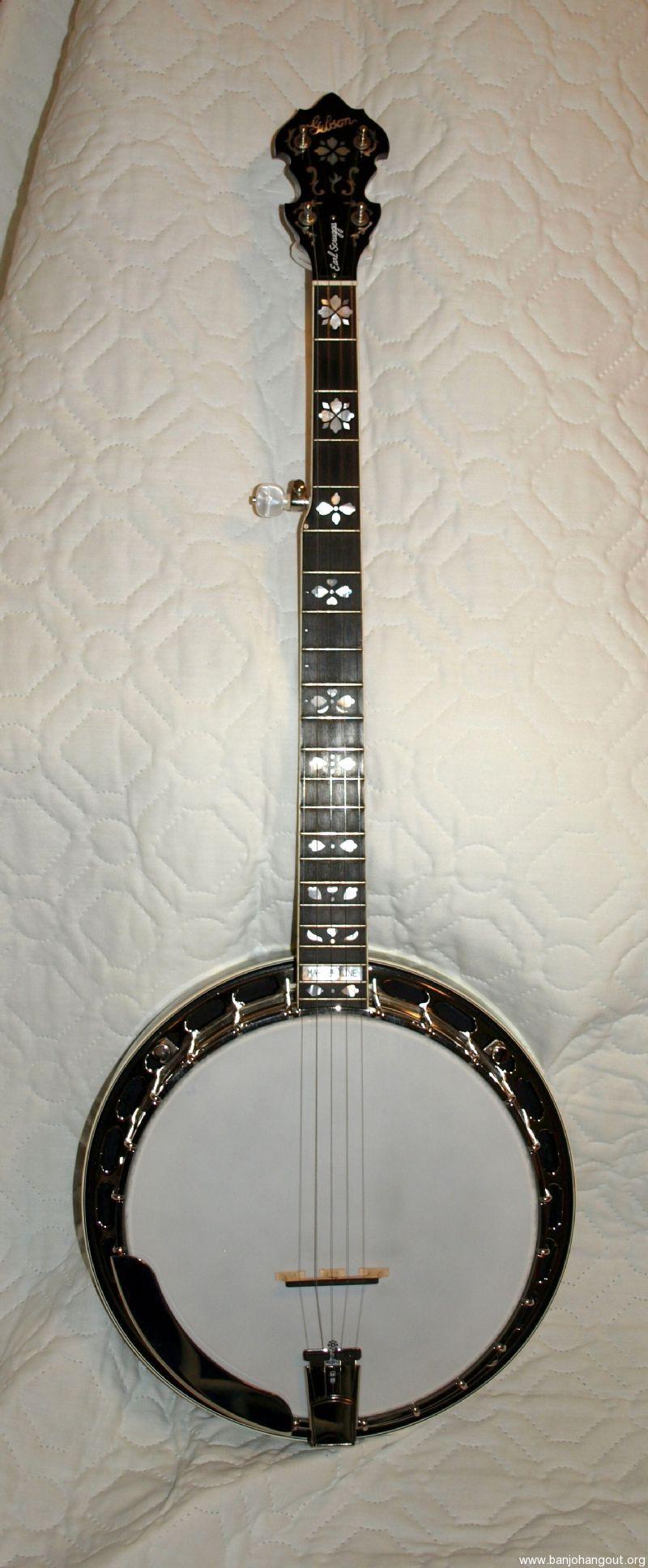 Gibson Mastertone Earl Scruggs Model Banjo Used Banjo For Sale At