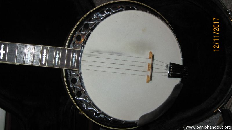 fender artist model used banjo for sale at. Black Bedroom Furniture Sets. Home Design Ideas