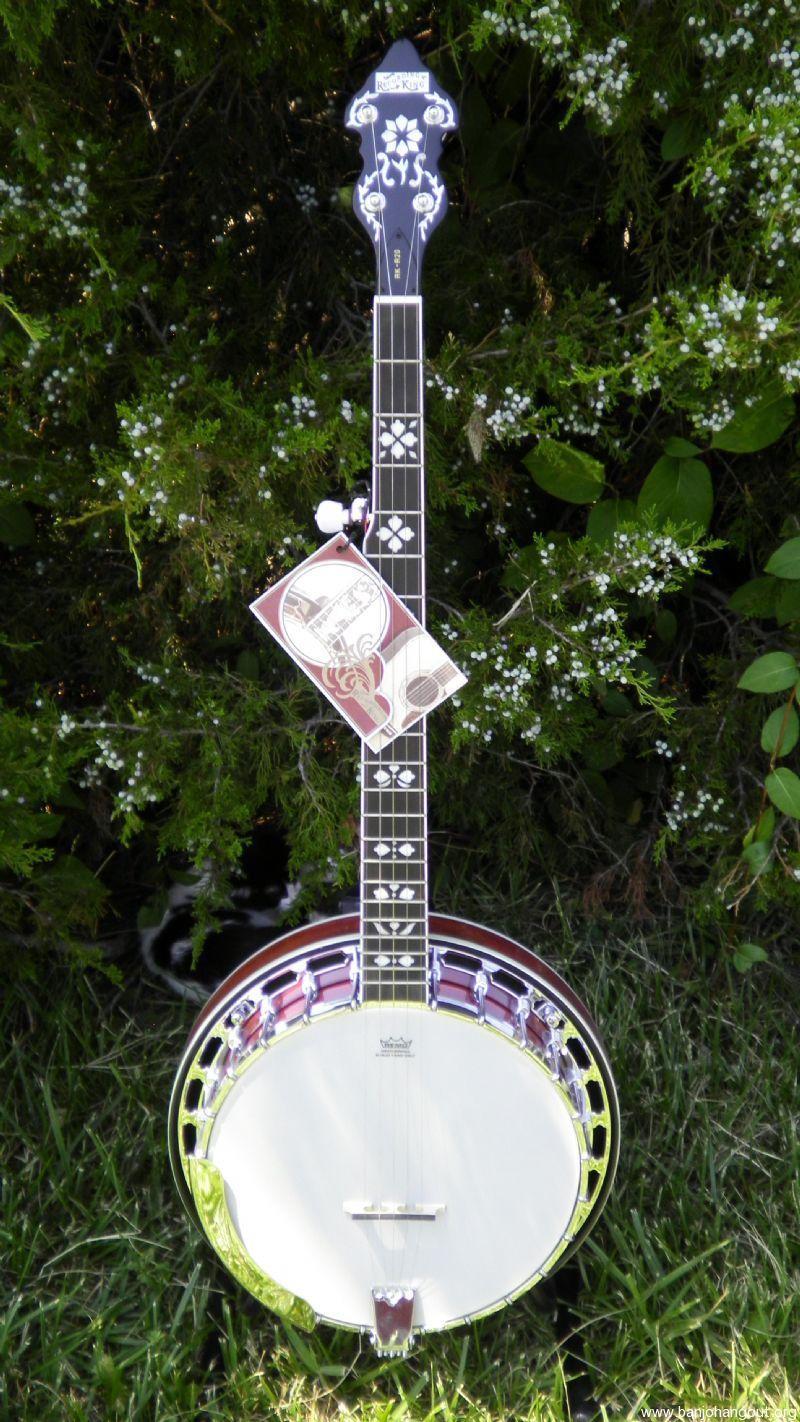 recording king rk r20 songster used banjo for sale at. Black Bedroom Furniture Sets. Home Design Ideas
