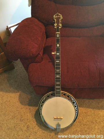 68 69 model fender artist 5 string banjo used banjo for sale at. Black Bedroom Furniture Sets. Home Design Ideas