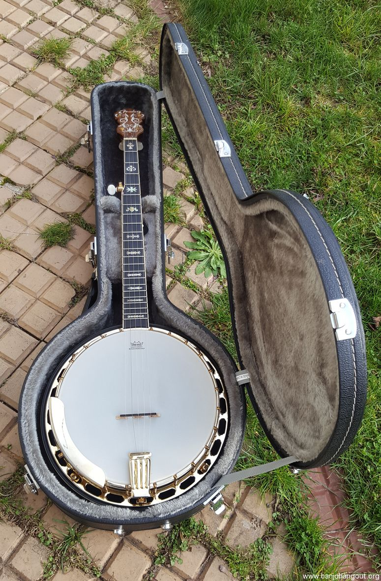 fender fb59 used banjo for sale at. Black Bedroom Furniture Sets. Home Design Ideas