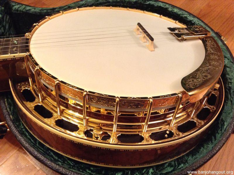 Sold Wildwood Presentation Banjo Custom Used