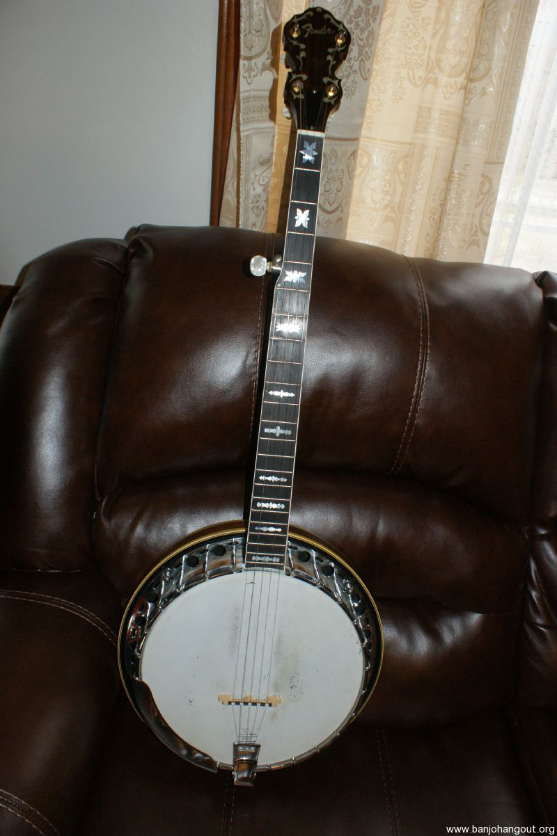 fender artist used banjo for sale at. Black Bedroom Furniture Sets. Home Design Ideas