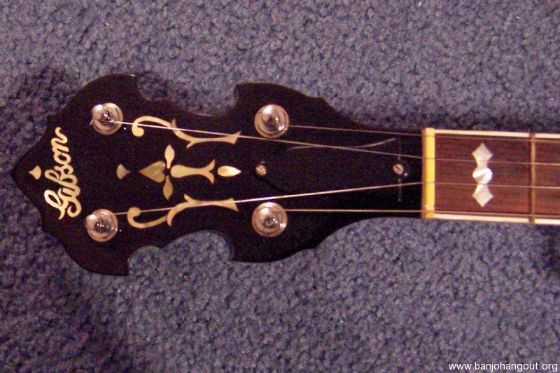 Prewar Gibson TB3 - Leaves & Bows 5 String Neck - Used Banjo For