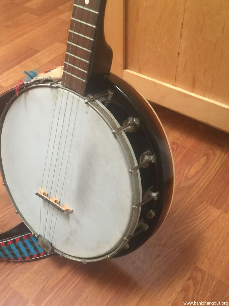Old SIlvertone 5-string resonator - Used Banjo For Sale at