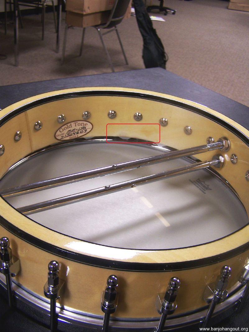 For Sale - Gold Tone MM-150 5-String Open-Back Banjo B-Stock