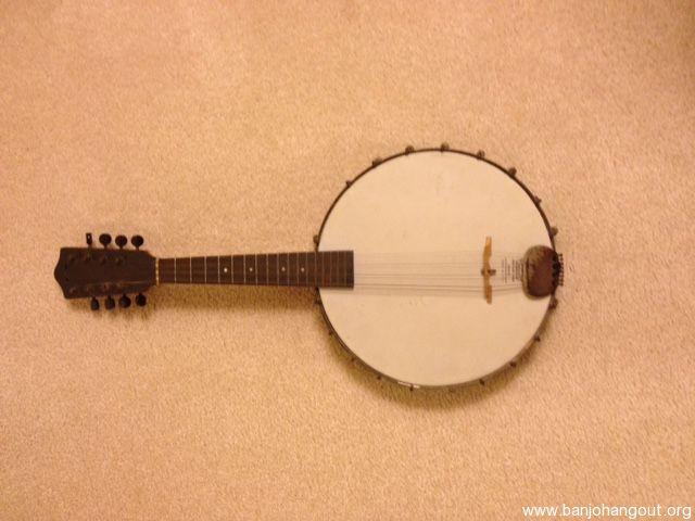 vintage banjo mandolin banjolin used banjo for sale at. Black Bedroom Furniture Sets. Home Design Ideas
