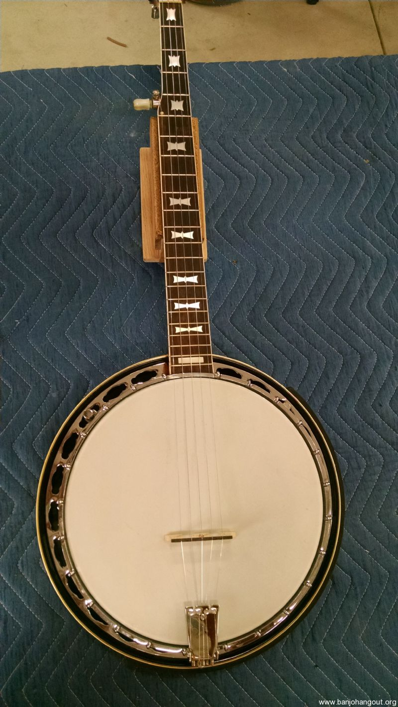 Late 70 S Aria Deluxe Used Banjo For Sale At Banjobuyer Com