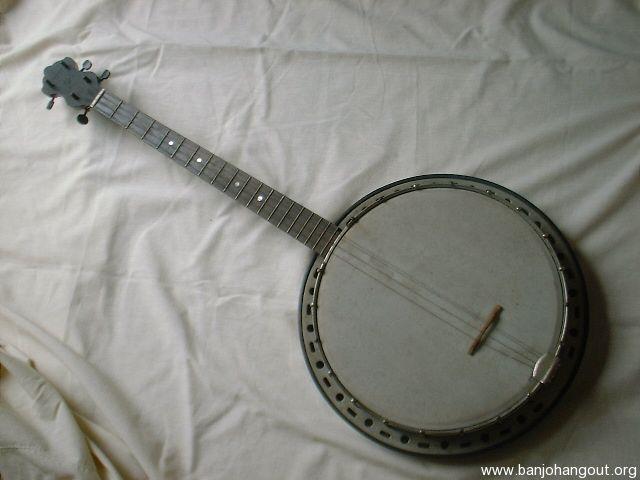 vintage stromberg voisinet tenor banjo for sale used banjo for sale at. Black Bedroom Furniture Sets. Home Design Ideas