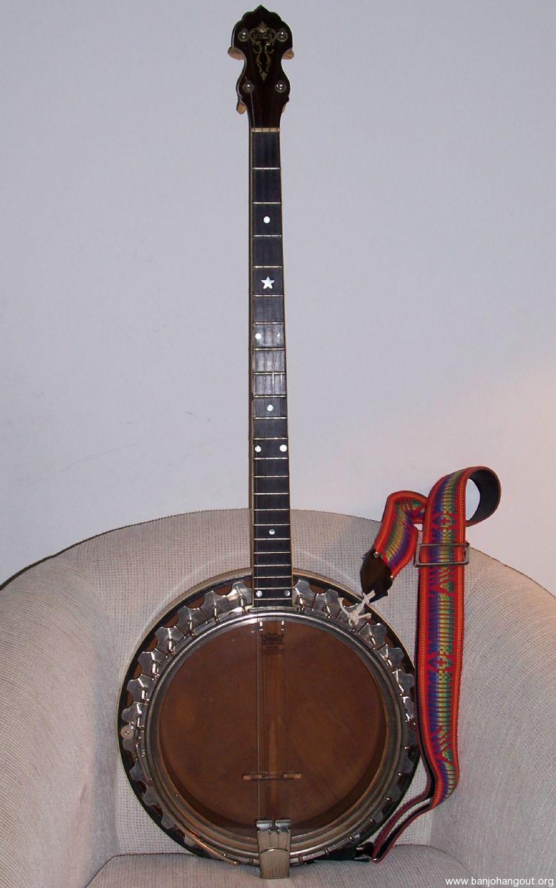 vintage vega tubaphone 4 string tenor banjo pre war 1927