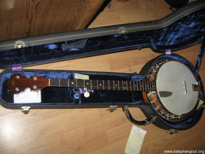 1973 OME Juggernaut I resonator vintage banjo - Used Banjo For Sale