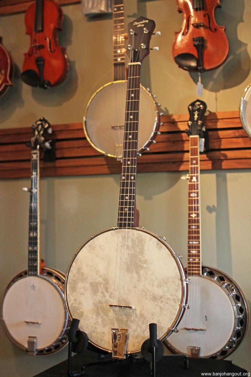 Recording King RKT-05 Dirty Thirties Tenor Banjo (Gig Bag, D'Addario