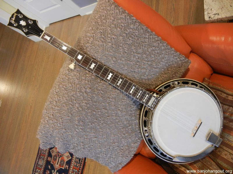 1954 Gibson Rb 250 Bowtie 42468 31 All Original Used Banjo For