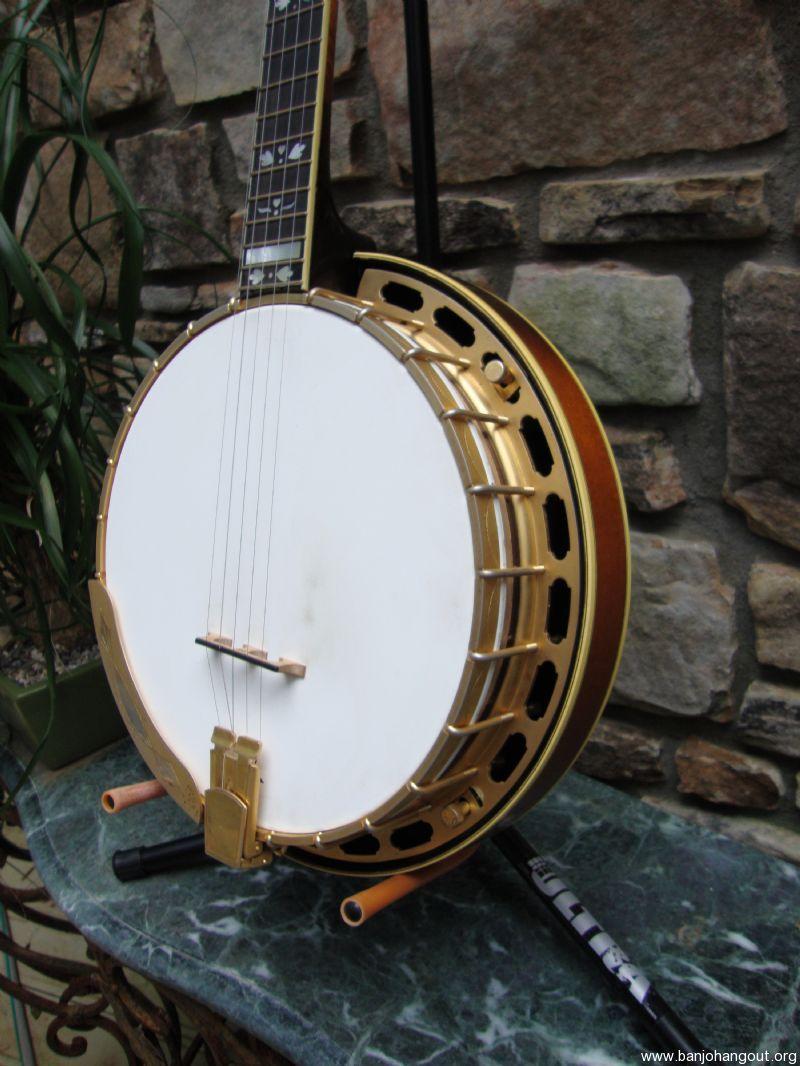 vintage jd crowe goldstar used banjo for sale at. Black Bedroom Furniture Sets. Home Design Ideas