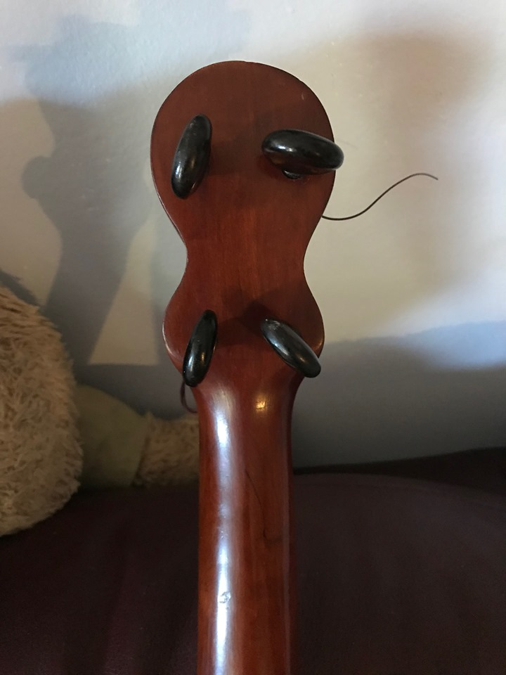 Wooden Peg Banjo can anyone identify?? - Discussion Forums