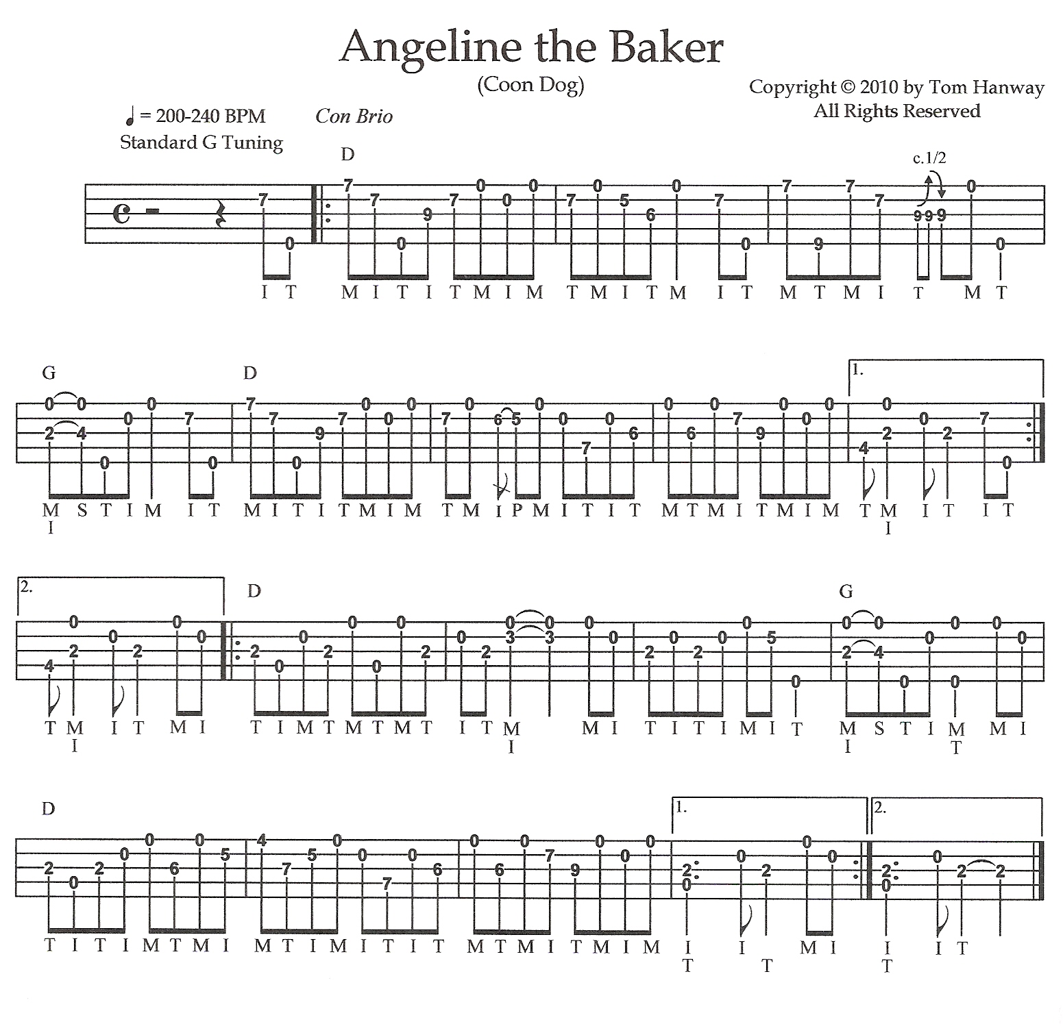 Angeline the baker d tab details and ratings banjo hangout angeline the baker d hexwebz Gallery