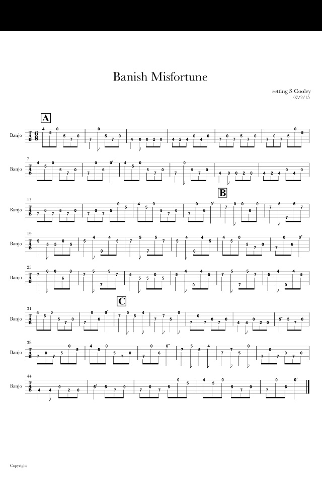 Browse Tabs By Letter: (B) - Banjo Hangout