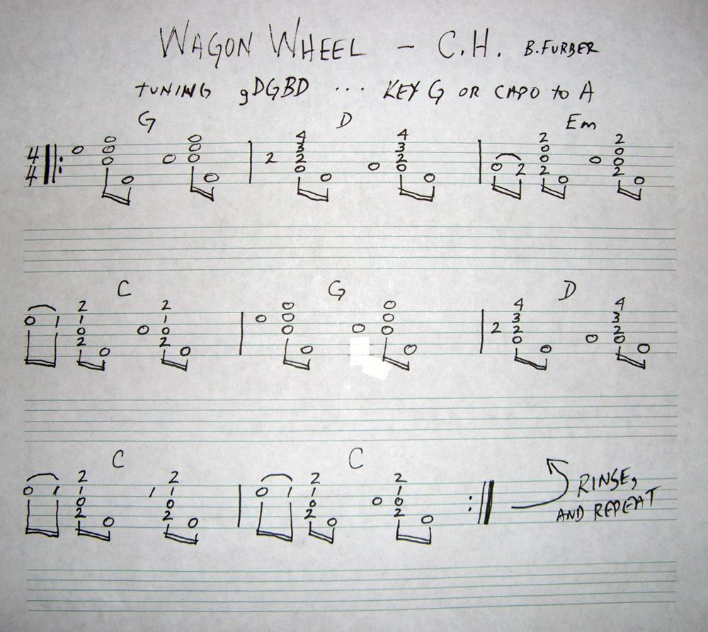 Wagon Wheel Tab Details And Ratings Banjo Hangout