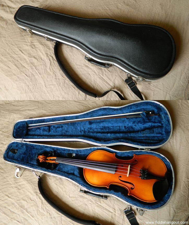 SOLD: German-made Karl Knilling violin, w/Gator case