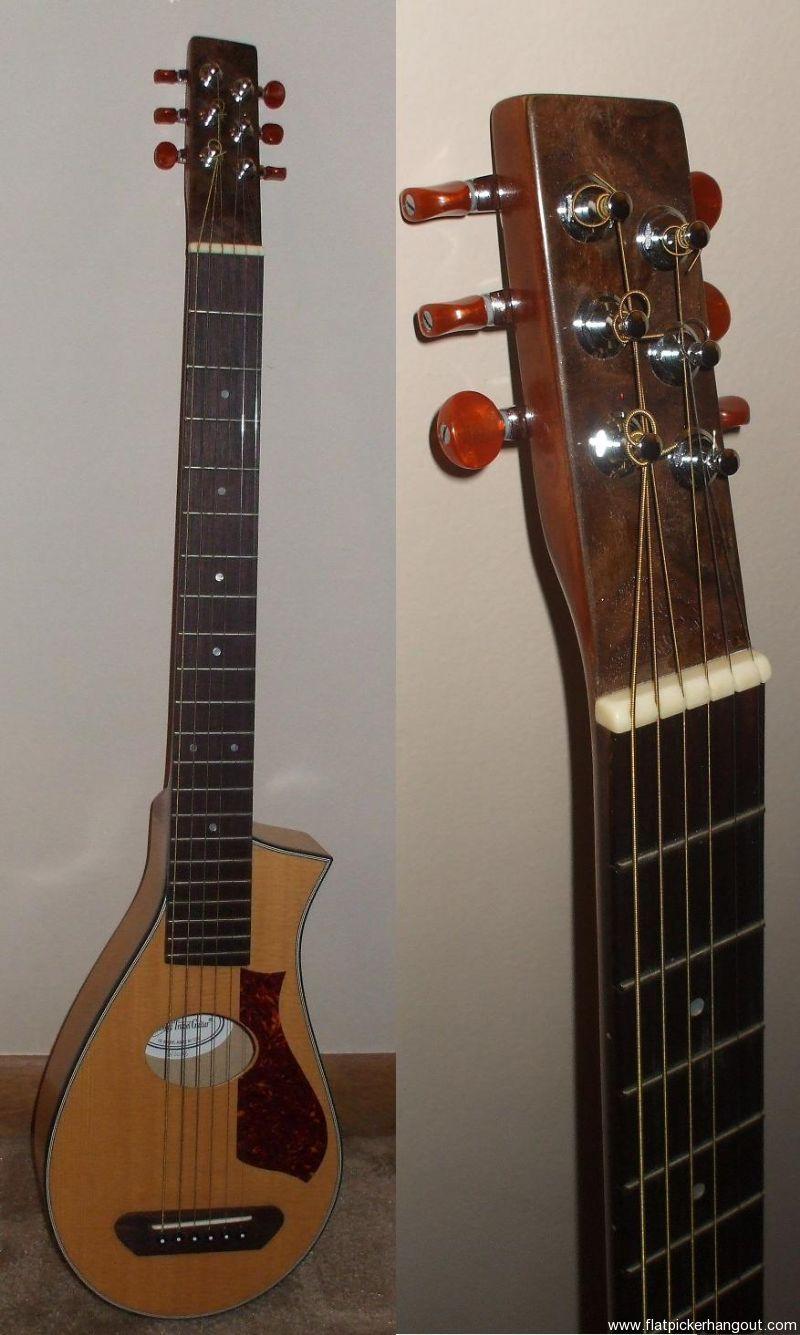 Sold Vagabond Travel Guitar Flatpicker Hangout